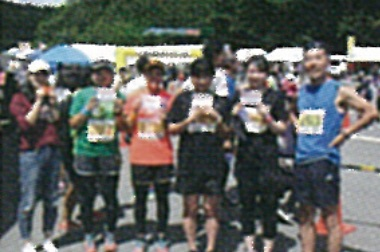 画像:マラソン走者