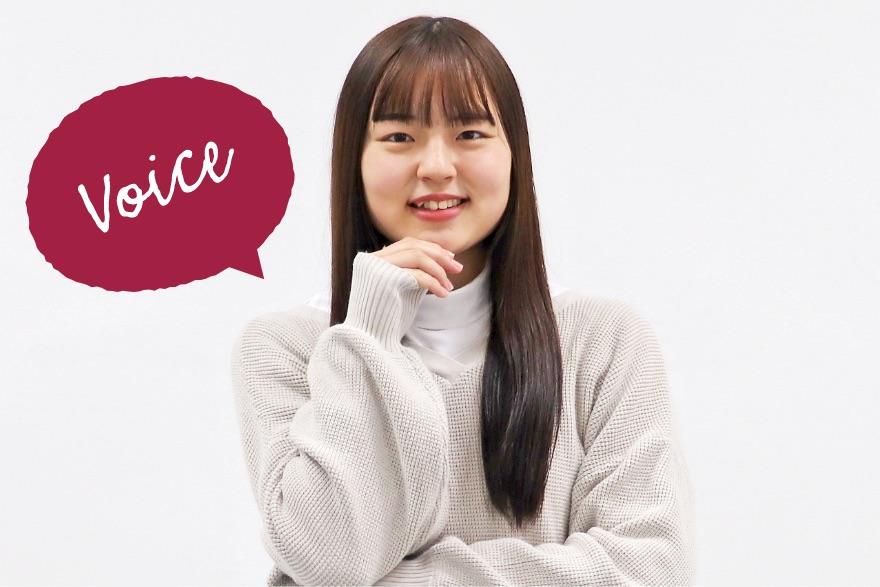 画像:笑顔の学生